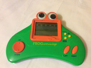 Vintage Handheld Game Frog Crossing Radio Shack Frogger