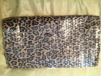 Handbag - Animal Print SEQUIN Evening BAG
