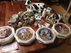 Cow themed Collectables
