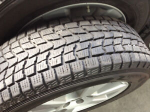 Winter tires in excelent shape with Lexus RX rims 225/45/17