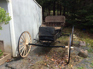 Antique buggy