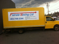 Move stress free at affordable rate 2men& truck$85 minimum2 hrs.