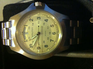 HAMILTON KHAKI - MINT CONDITION **GREAT PRICE**