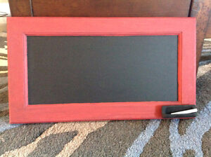 Decorative chalkboard