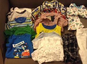 Box of boy's 6-12 months spring/summer clothes Kitchener / Waterloo Kitchener Area image 2