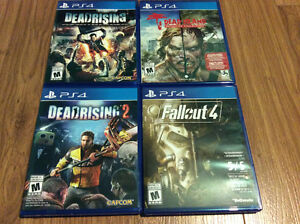 PlayStation 4 Games For Sale Excellent Condition Bought New