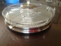 Round Glass Serving Dish