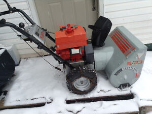 5hp craftsman snowblower with electric starter