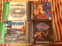 Vintage Playstation 1 Games For Sale