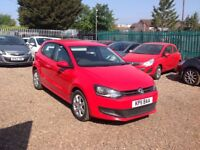 Volkswagen Polo 1.2 60 PS S (red) 2011