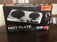 Two ring hot plate