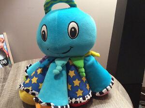 Lamaze Octotunes Blue Plush Musical Octopus, Developmental Toy