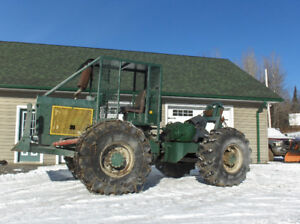 Completely Rebuilt Log  Skidder