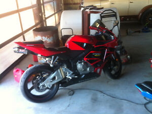 2006 honda cbr 600 rr trade sled atv