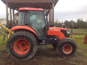 Kubota  M6040. 4wd  60hp 3 point hitch 540 pto.