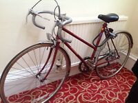 Awesome Raleigh Prelude 5-speed with new gear shifter