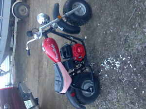 baja mini bike