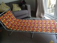 Retro sun lounger
