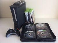 Xbox 360 Elite 120GB with 34 Games
