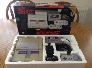 For sale is my Box'd Super Nintendo