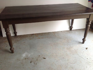 Reproduction table antique