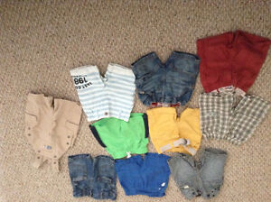 12 pieces shorts from 6 to 12 month