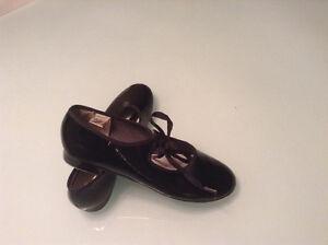 3 paires de souliers de claquette gr.12; gr.1; gr.6