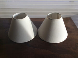 MINT Condition Lamp Shades (Colour: White)
