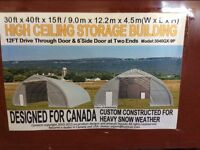 Dome Shelters/Party Tents/Storage