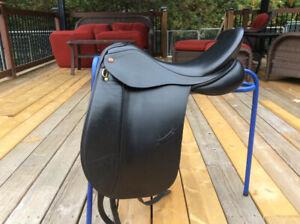 """18"""" Albion Legend K2 Dressage Saddle, Immaculate, MW-W"""