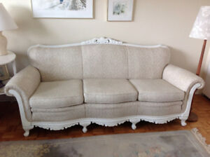 Vintage Couch and Armchair  New Price