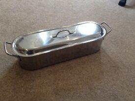 Brand new stainless steel fish kettle/poacher