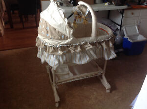 """Billy"" Bassinet with mobile"