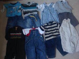 Bundle of boys clothes. Age 3-6 months.