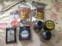 Various Fishing Baits, Liquids and Accessories