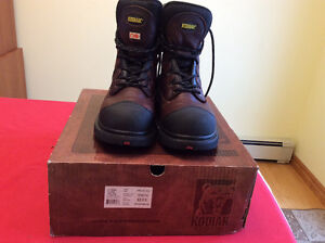 Men's Work Boots Steel Toe 8.5