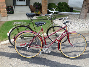 Two Vintage Raleighs