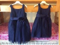 2 x bridesmaid dresses. Ages 4-5 and 6-7.