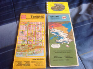 OLD ONTARIO MAPS