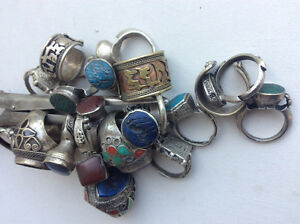 21 unique old rings for  collectors. Not fine jewelry. Handmade Windsor Region Ontario image 6