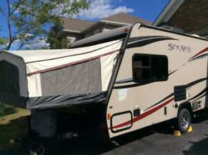 2014 Solaire 147X Hybrid Trailer