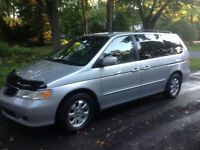 2003 Honda Odyssey Gris Camionnette exl cuir full belle occasion