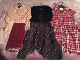 Bundle of Girl's Outfits 7-8 yrs