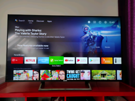 """Sony Bravia 55"""" KD-55XE8596 Led 4K Android Smart TV"""