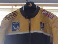 Very nice quality leather bike jacket