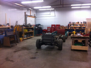 ***WANTED; Trade nicely-equipped shop space for metal work **