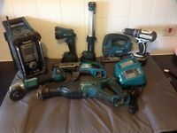 Makita 18v bundle 9 piece cordless kit