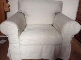IKEA armchair grab a bargain.