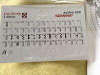Bernina activa 230 sewing machine
