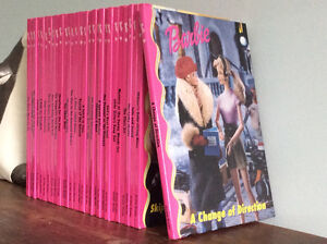 Complete Set of 28 Hardcover Barbie Book Club Books Brand New